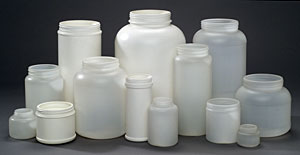 Blow Molded Jars and Canisters